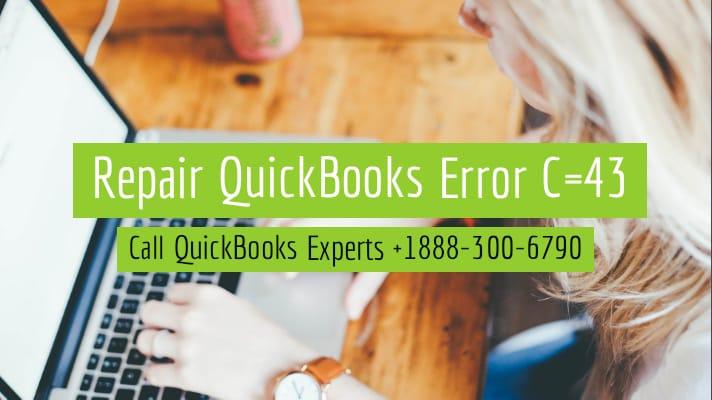 quickbooks error c43