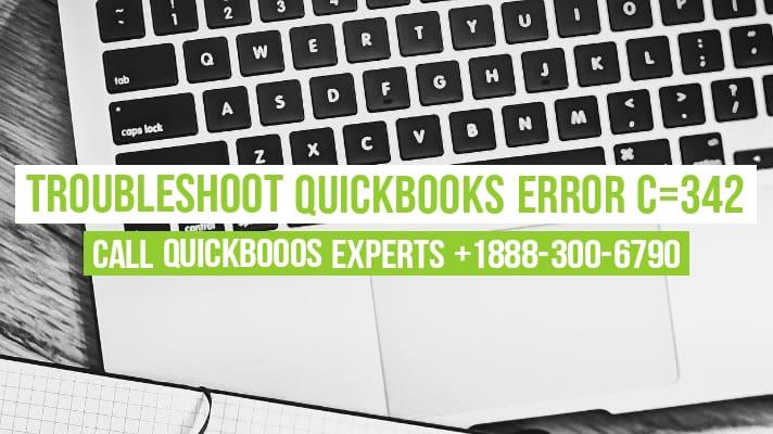 quickbooks error c342
