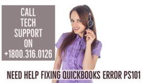 QuickBooks Error PS101