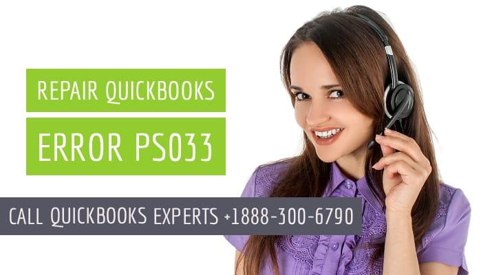 quickbooks error ps033
