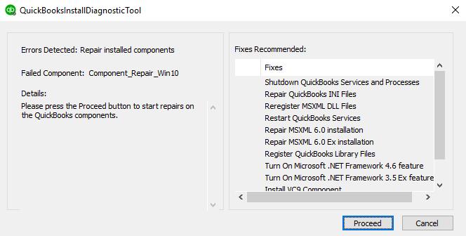 use quickbooks install diagnostic tool