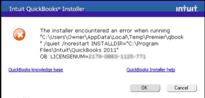 QuickBooks error 61686