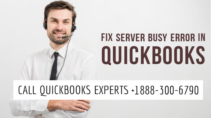 quickbooks server busy error