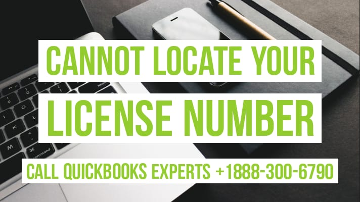 quickbooks license lookup
