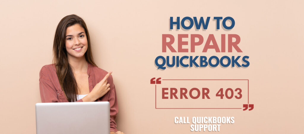 QuickBooks error 403