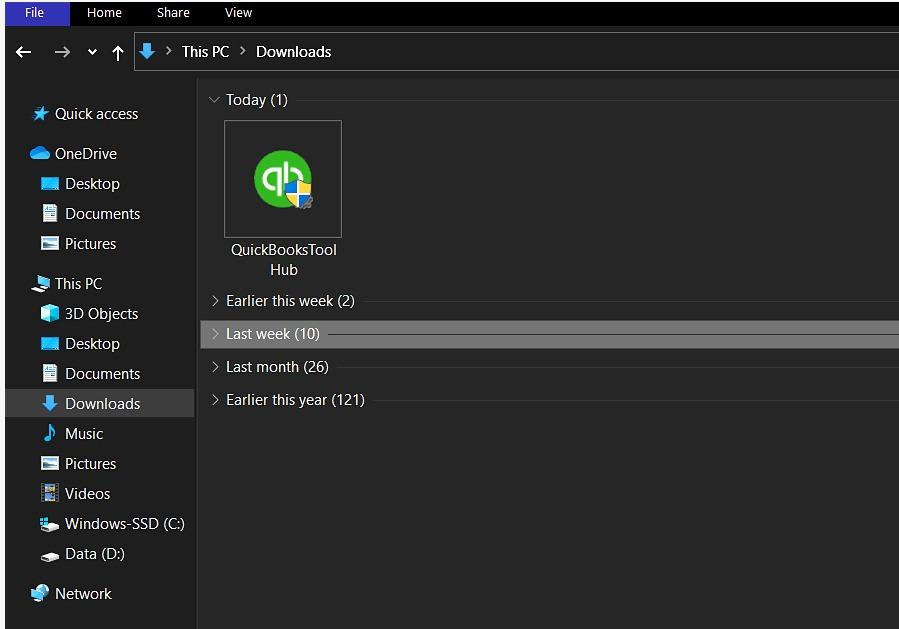 quickbooks tool hub file