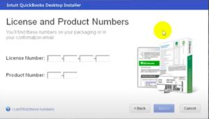 License to install quickbooks desktop