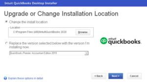 QB desktop Installation
