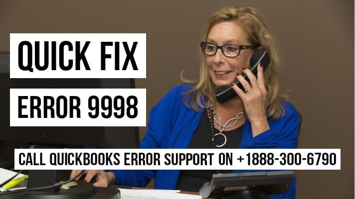 quickbooks error 9998