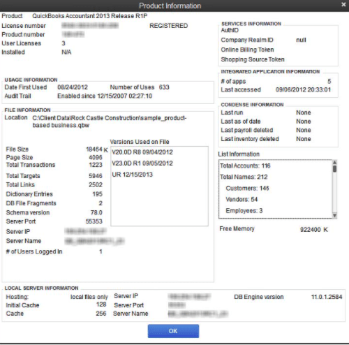quickbooks error 140305 verify customers