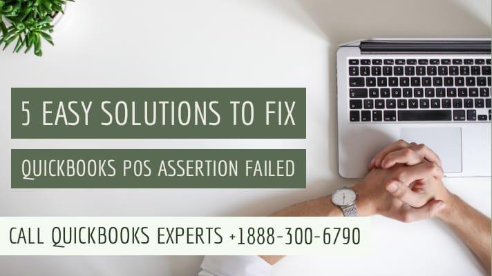 quickbooks pos assertion failed