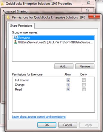 install & setup quickbooks multi user mode