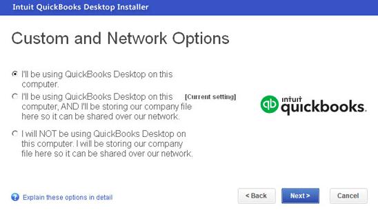 setup quickbooks multi user mode