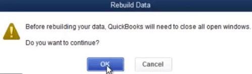 qbwin log error quickbooks verify data failed