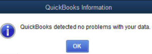 qbwin log verify account balance failed