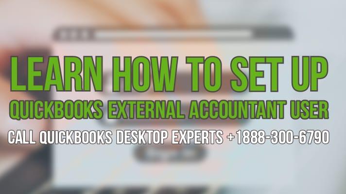QuickBooks External accountant user
