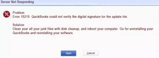 QuickBooks Server Not Responding