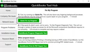 QuickBooks maintenance release error 15215 server not responding