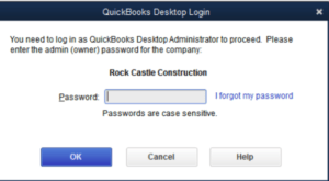 QuickBooks Desktop Payroll Invalid Pin Error