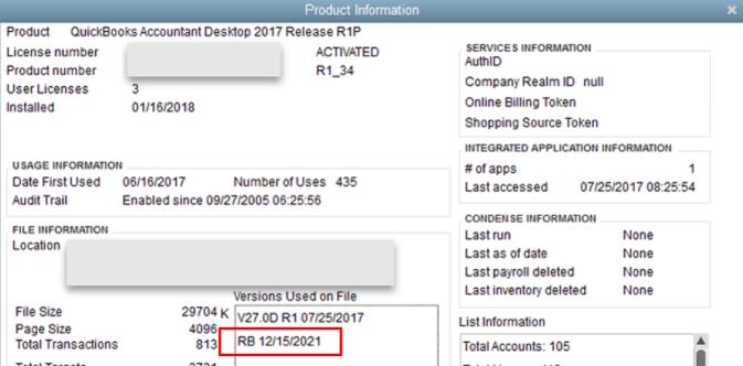 check last backup in quickbooks desktop f2