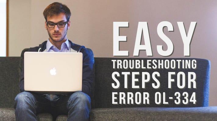 Error 334 QuickBooks